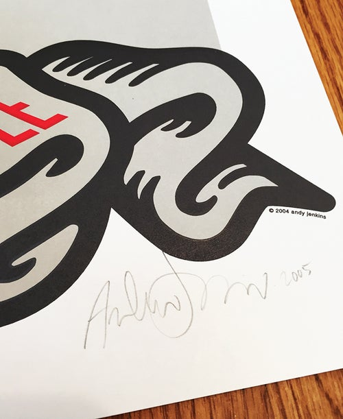 Image of PRINT: Scribble Scrabble Jenkins poster