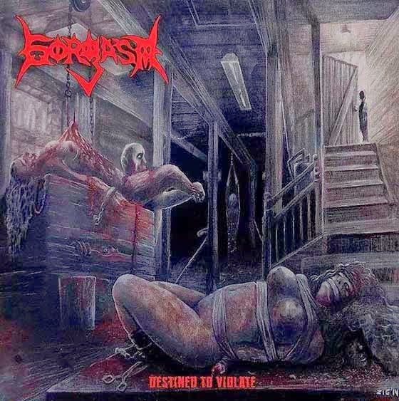 Image of GORGASM - Destined To VIolate CD