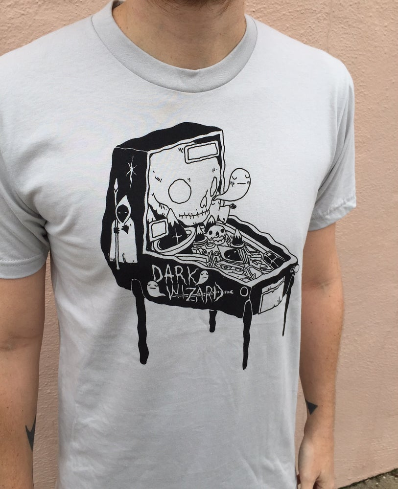 Image of Dark Wizard Pinball Shirt