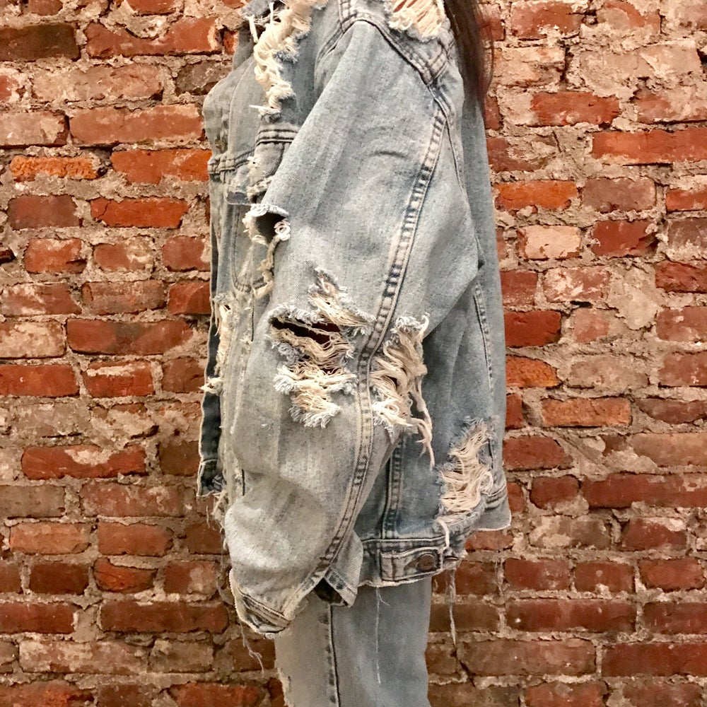Image of Oversized Jean Jacket