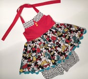 Image of Retro Minnie Ginger Tunic and Bloomers