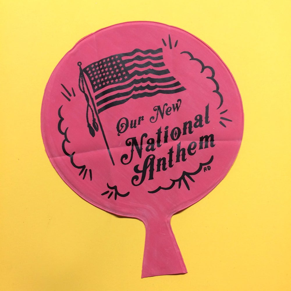 Image of National Anthem Whoopee Cushion