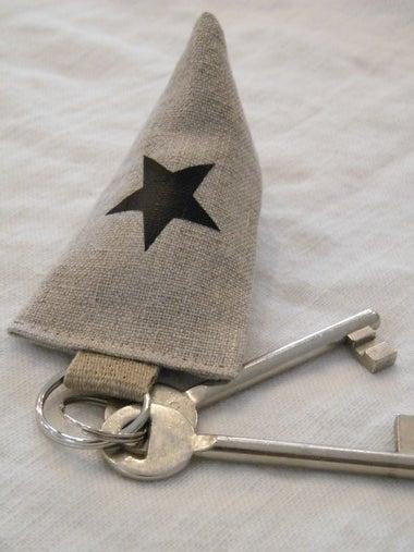 Image of Porte clés berlingot (PCBRLNGNOIR)