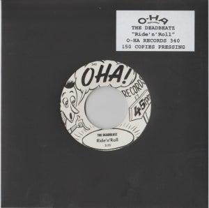 "Image of 7"" The Deadbeatz : Ride 'n' Roll. Ultra Ltd (150 copies) single sided."