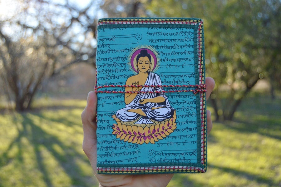 Image of Handmade Buddha/Ganesh Journal