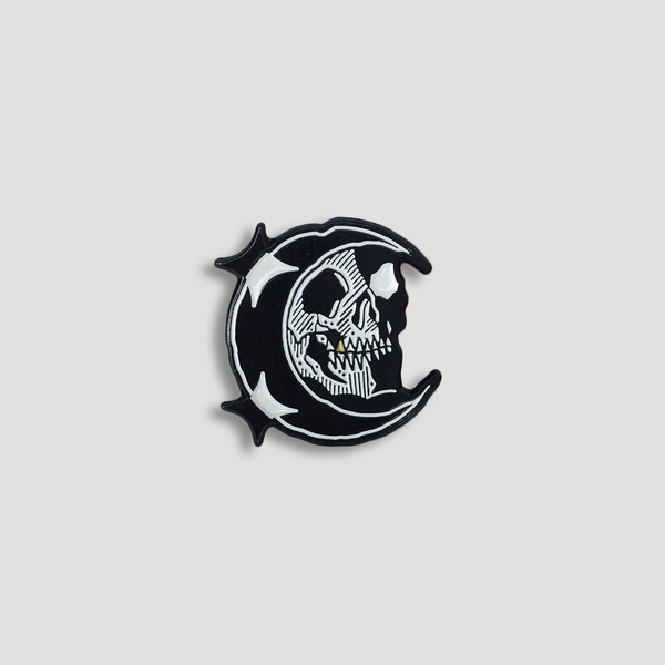 Image of MIDNIGHT MOON PIN