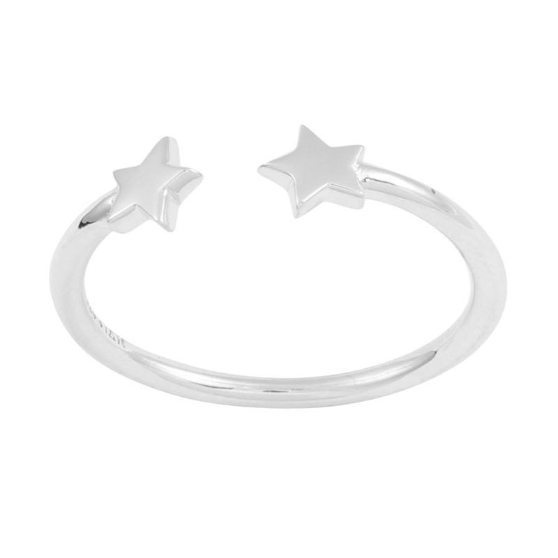 Image of Sterling Silver Shooting Stars Ring