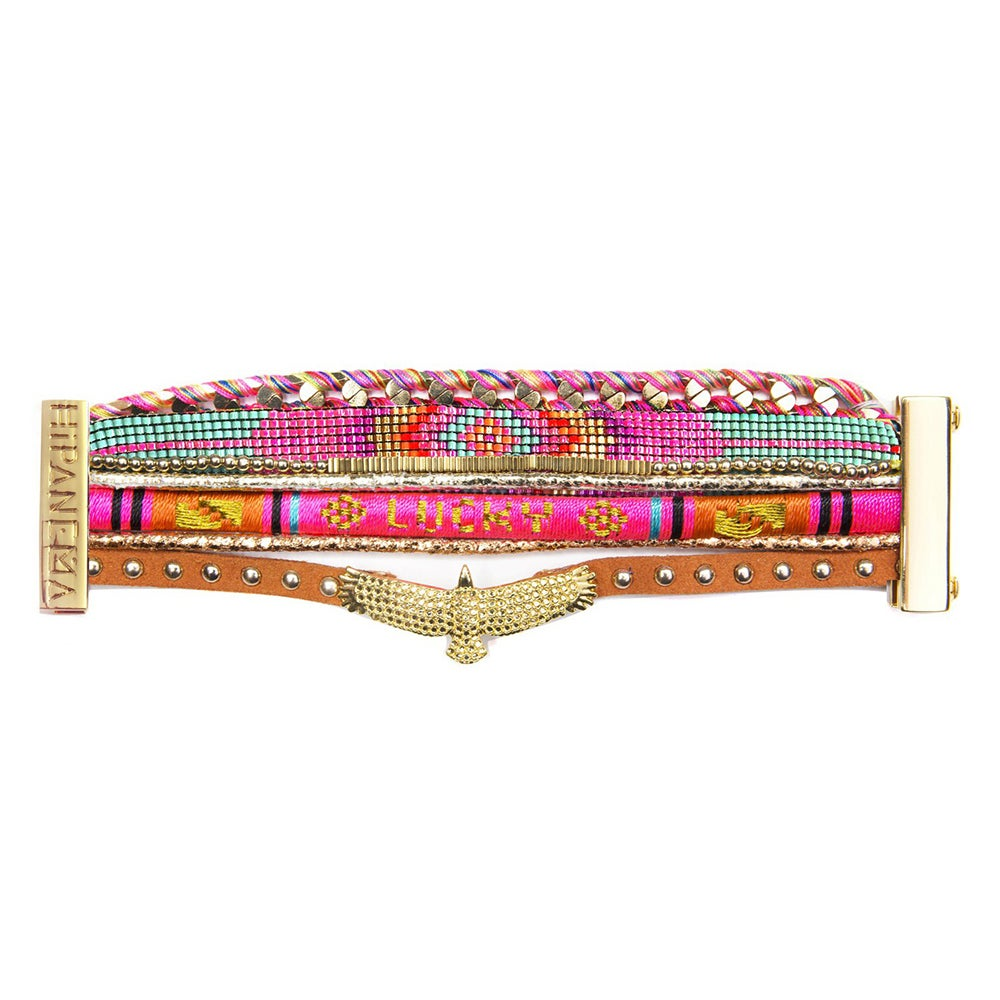 Bracelet Pink Lucky - HIPANEMA