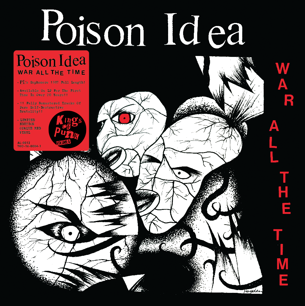 Image of POISON IDEA-War All The Time