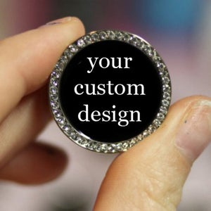"Image of Custom Design in Gem Tunnels (sizes 0g-2"")"