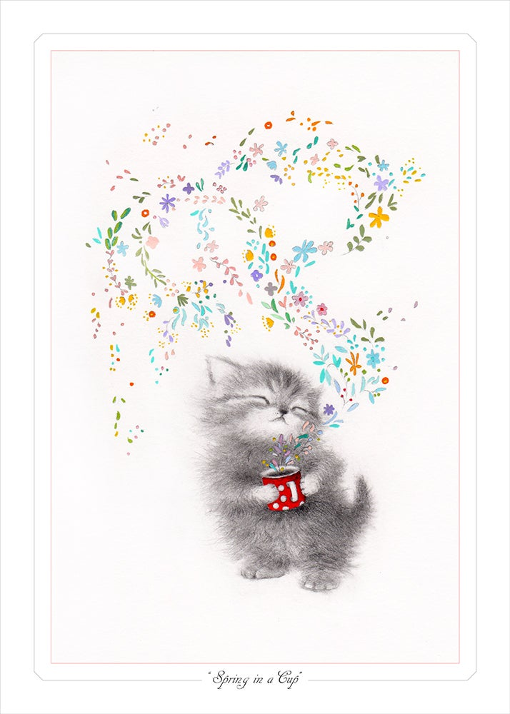 """Image of """"Spring in a Cup"""" Limited Edition Print"""