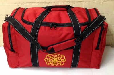 Image of Fireman X-Large Rescue Turnout Bunker Duffle Gear Carry Bag
