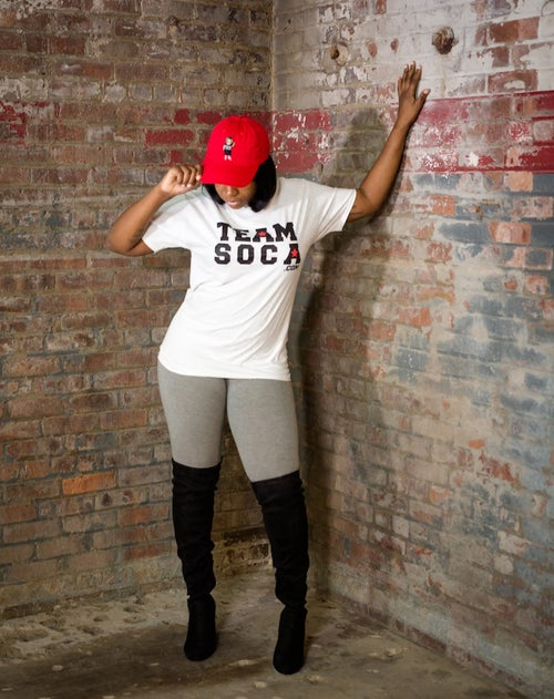 Image of Men & Women Team Soca T-Shirts - Various Colors