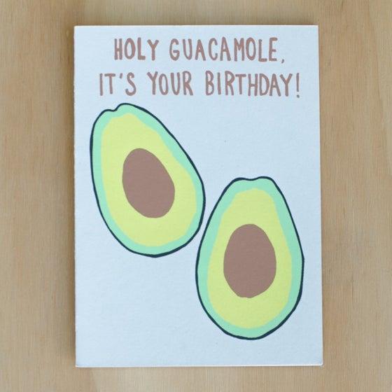 Image of Holy Guacamole