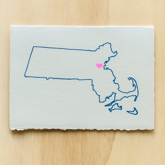 Image of Massachusetts Map