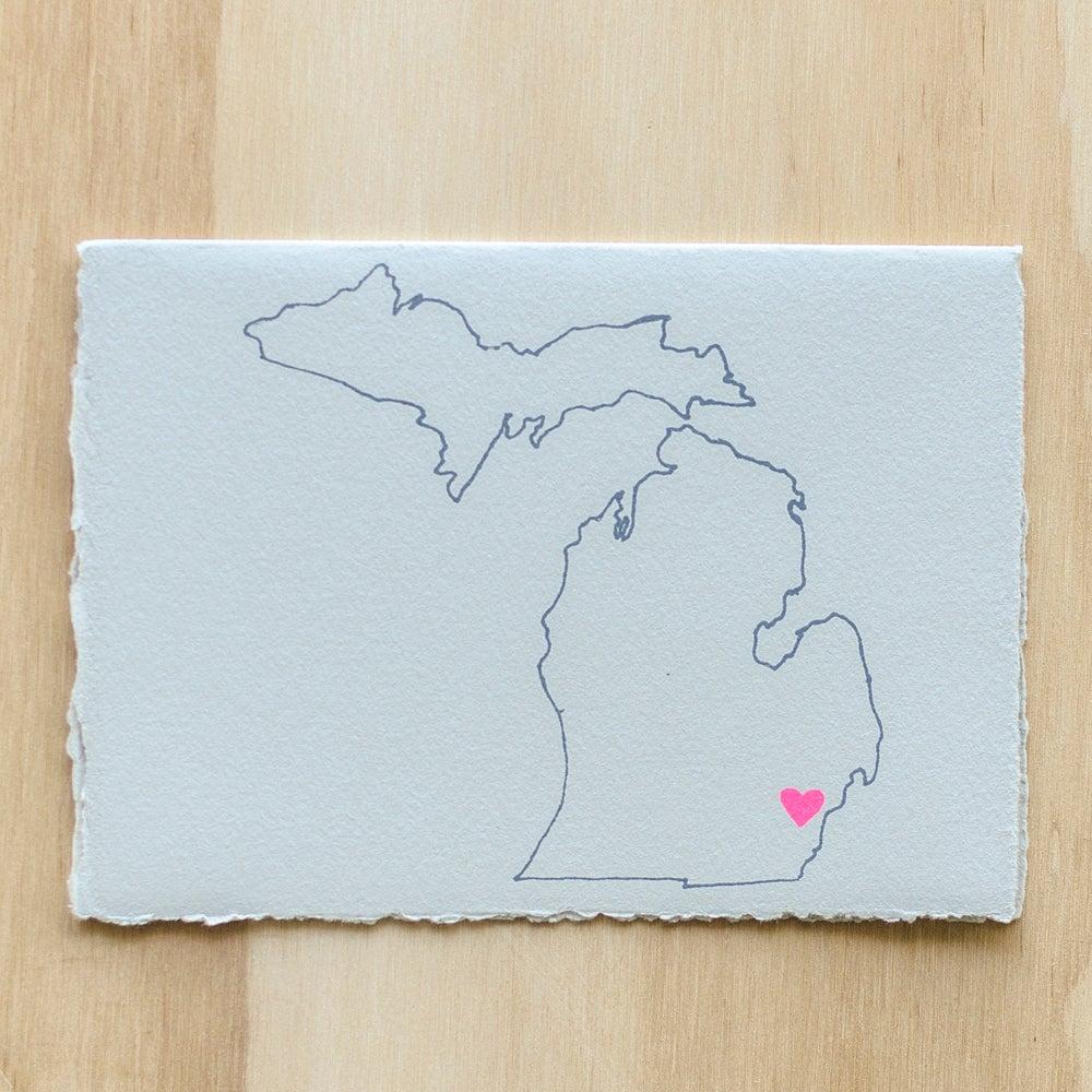 Image of Michigan Map