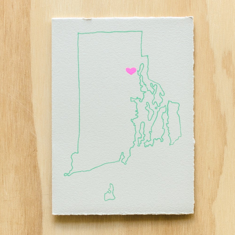 Image of Rhode Island Map