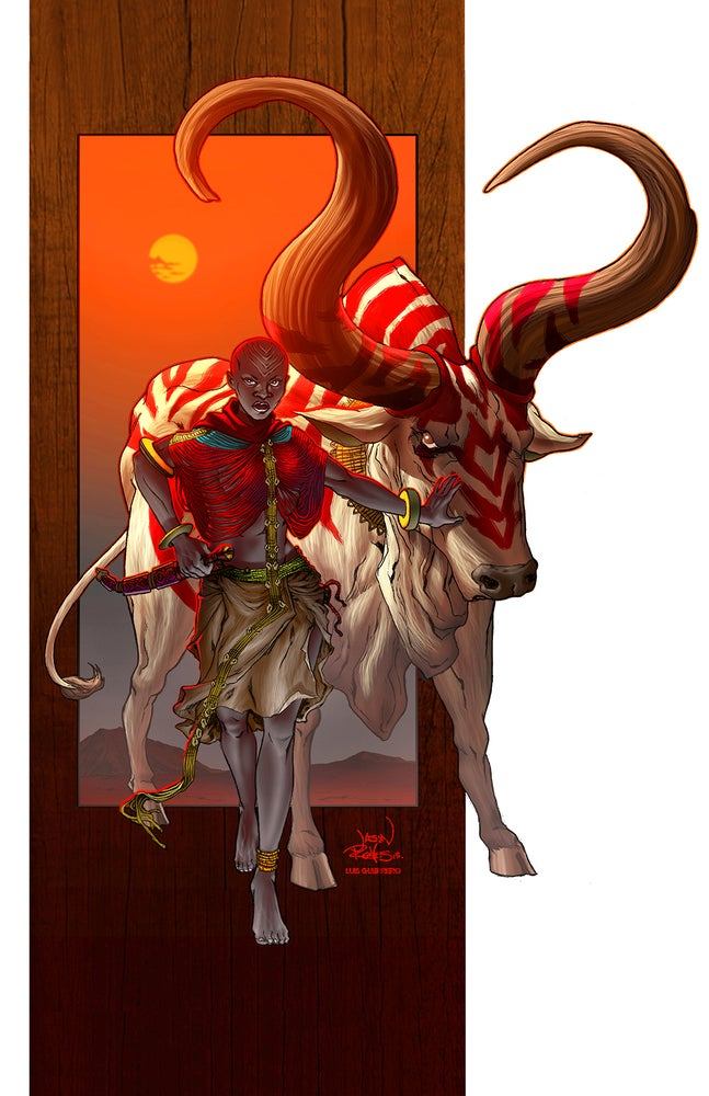 Image of Ayen and Bull [Poster]