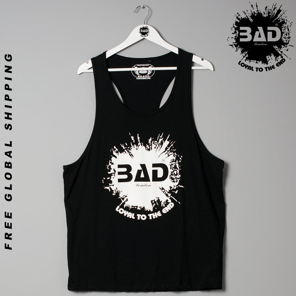 Image of Premium Unisex Stringer Vest by Bad Clothing London Designer Urban street wear and Fitness Fashion