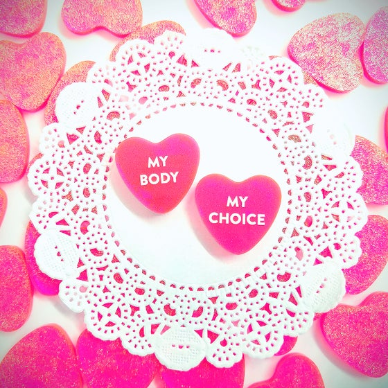 Image of Nom Nom Luv - Bittersweets - My Body My Choice Pins
