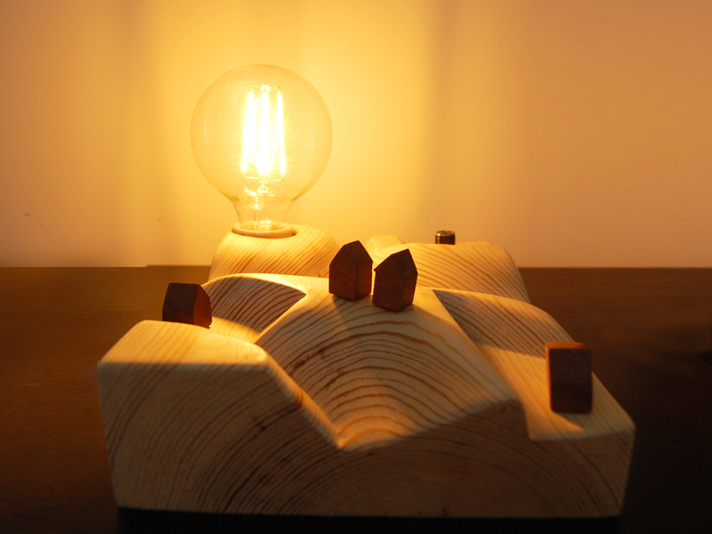 Image of Sunset lamp