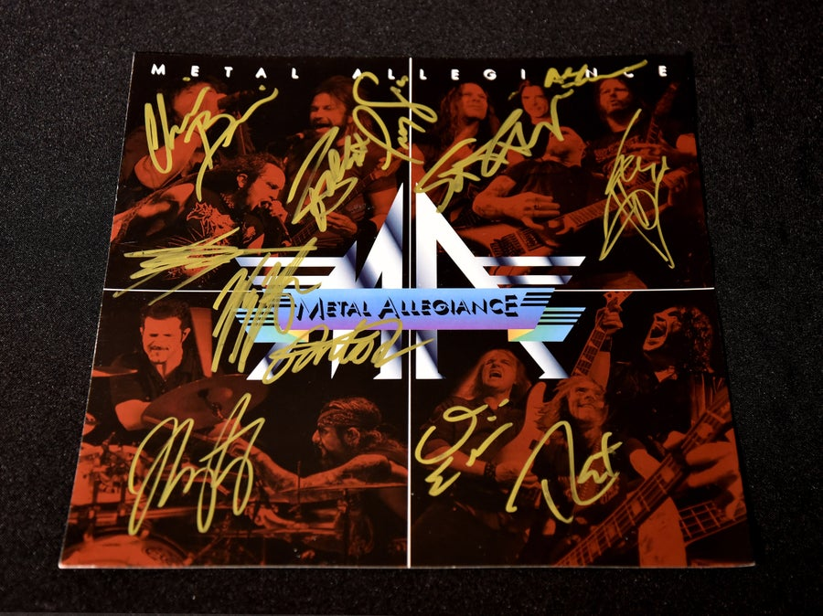 "Image of Signed ""Van Halen"" Print"