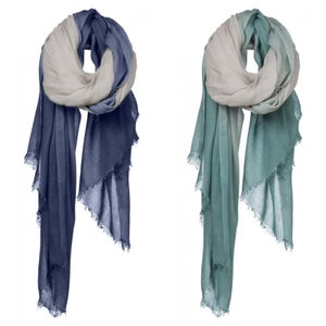 Image of Ombré Scarf available in cobalt or sea gream