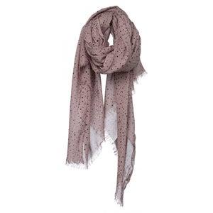 Image of Splatter print scarf