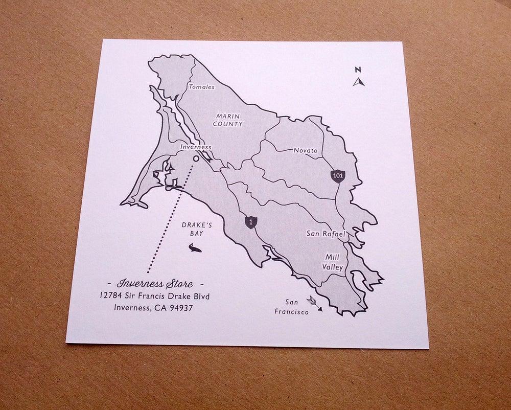 Image of Wedding or Travel Map, Custom Map Design + Print