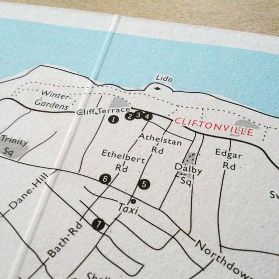 Image of FRANCOISE - Travel Map, Custom Map Design