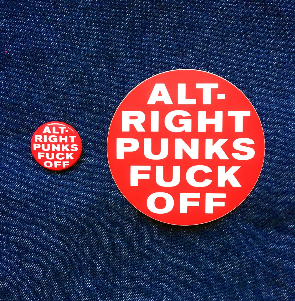 Image of ALT-RIGHT PUNKS FUCK OFF PARTY PACK