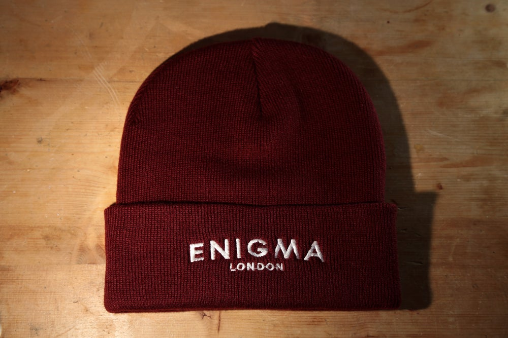 Image of London Beanie - Merlot