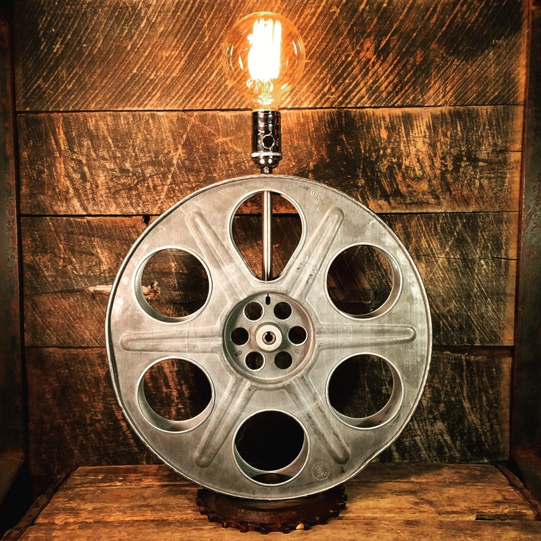 Image of Film Reel Table Lamp