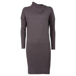 Image of Yaya Knitted Dress Ribbed Skirt