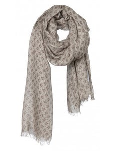 Image of Dusty Green Pattern Scarf