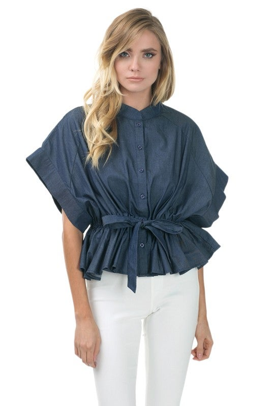 Image of Denim Lush Top
