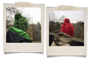 Image of TRAINSPOTTING HAT [RED]