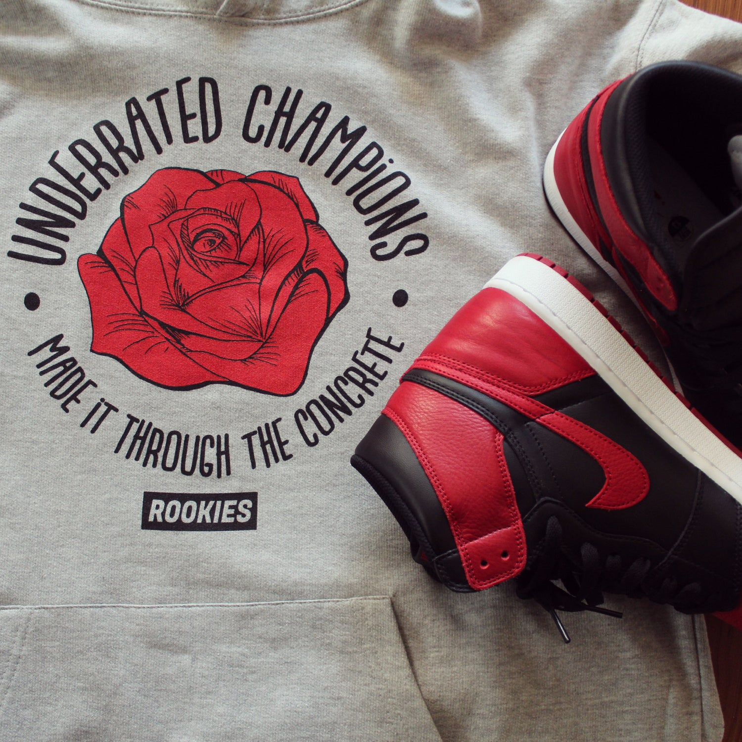 Image of Underrated Champions Red Rose