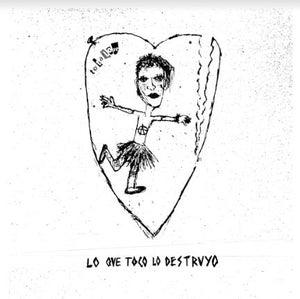 """Image of Totalove - Lo Que Toco Lo Destruyo 7"""" Flexi EP (Flexipunk7-06)"""