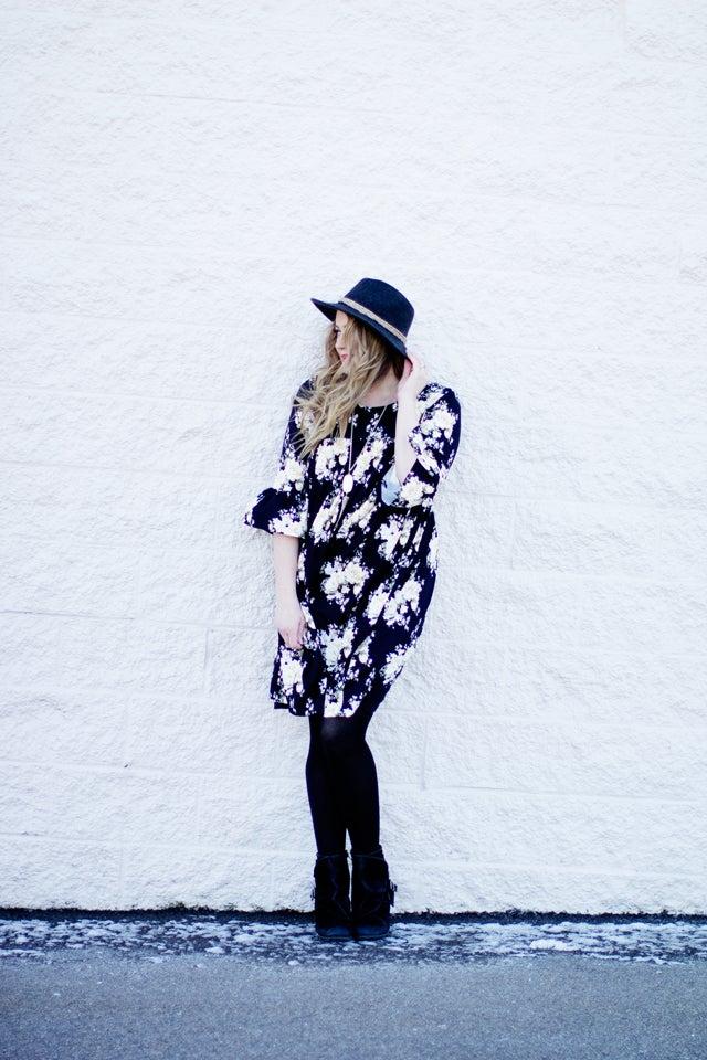 Image of the RACHEL BABYDOLL top/tunic/dress +
