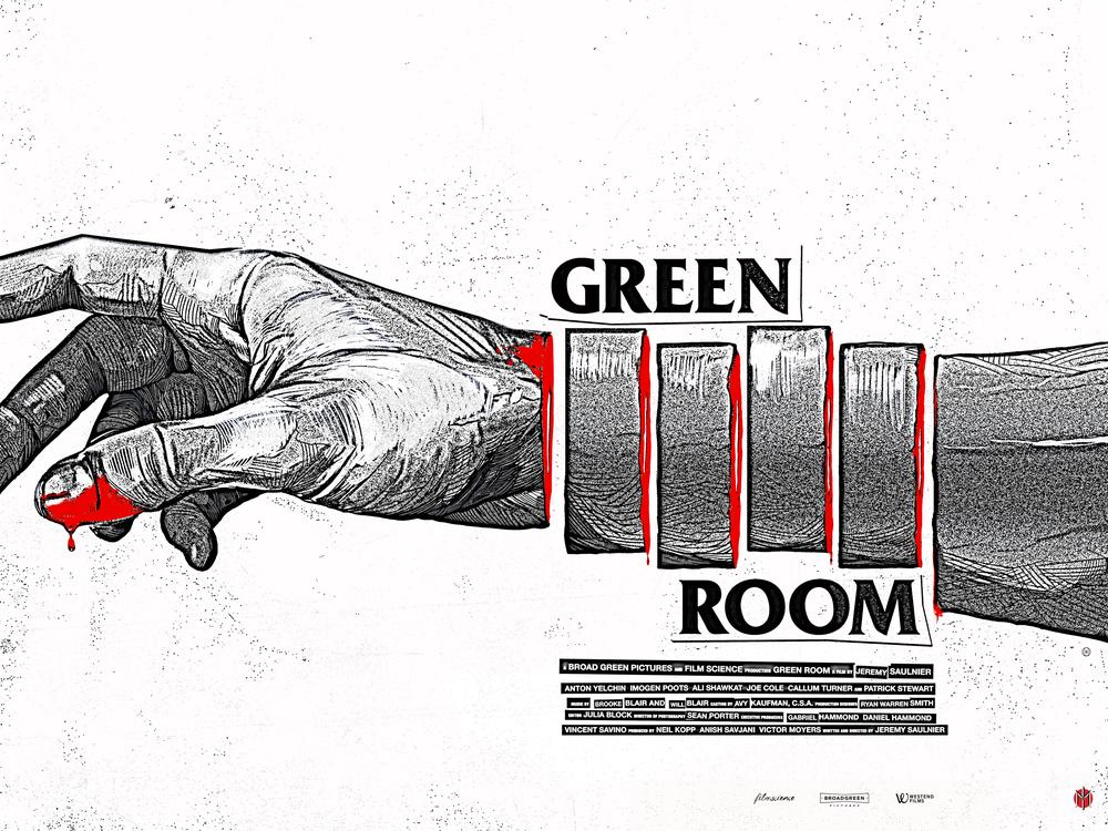 Image of Green Room - Flyer Variant