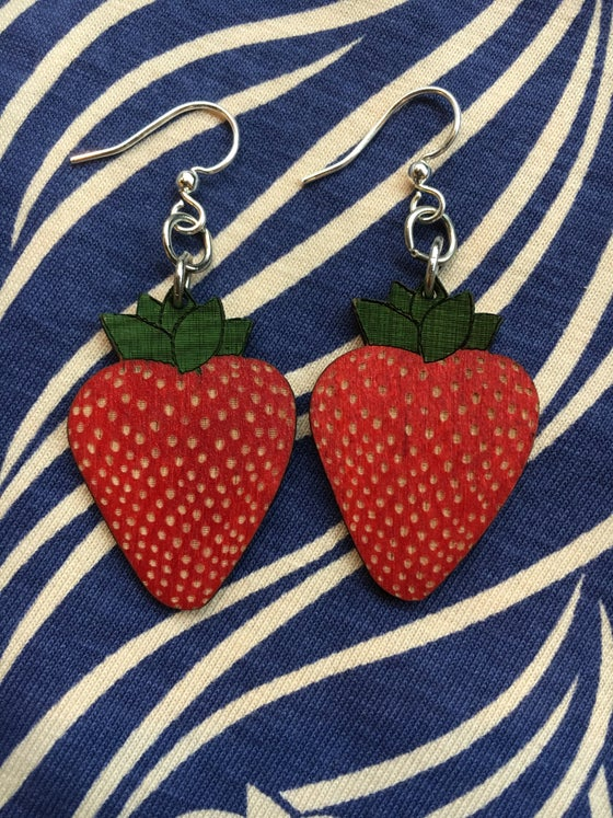 Image of Strawberry Earrings