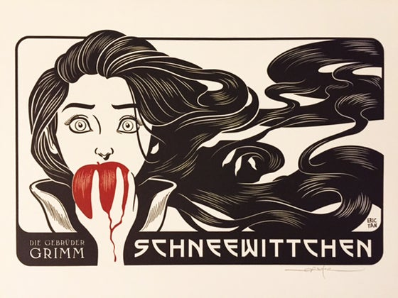 Image of Snow White Letterpress