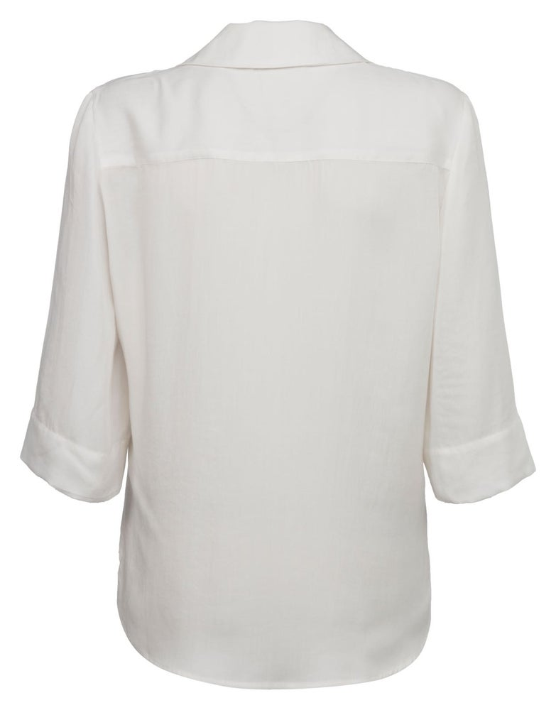 Image of Yaya White Blouse
