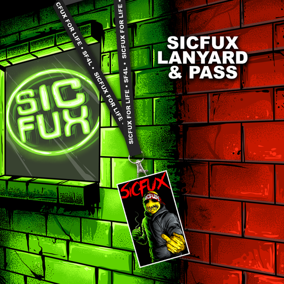 Image of 2017 Sicfux Lanyard & Pass