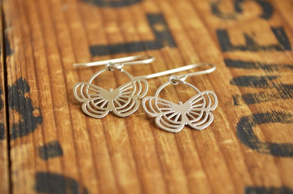 Image of Papilion earrings small