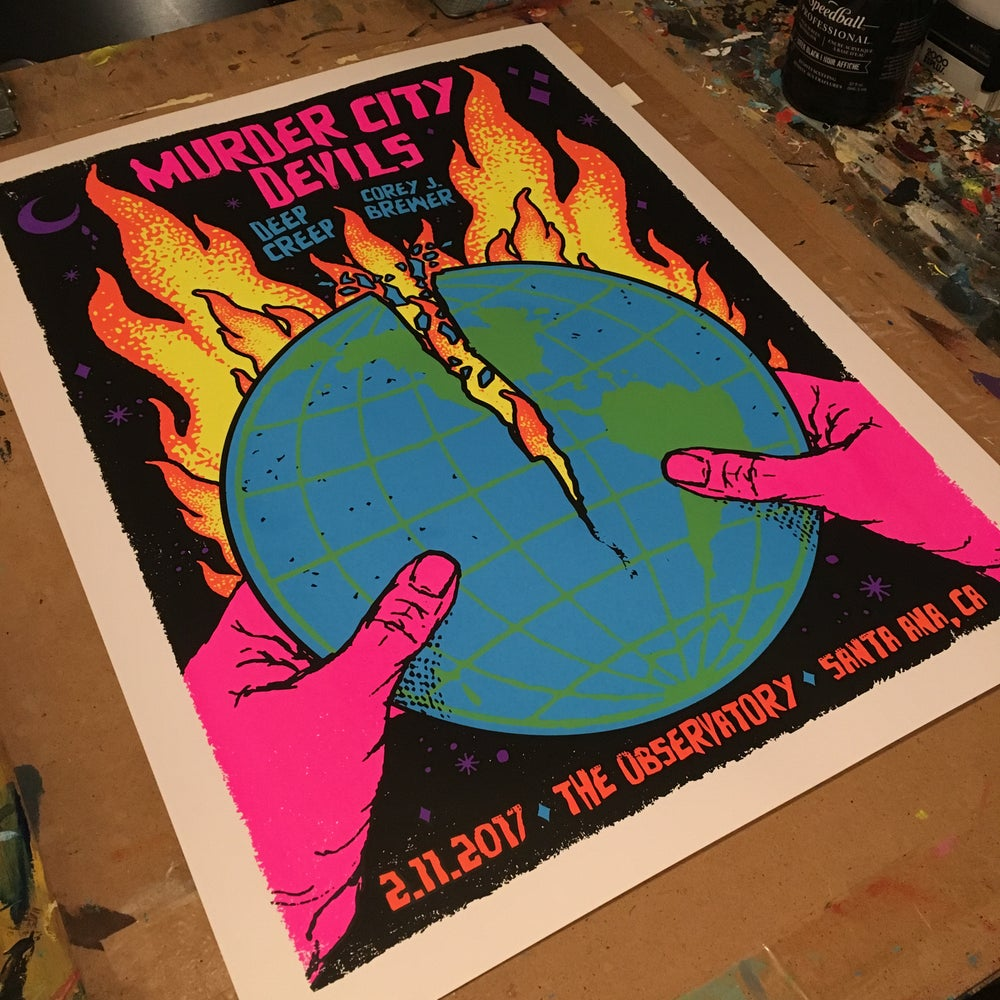 Image of Murder City Devils - 2.11.17 - poster