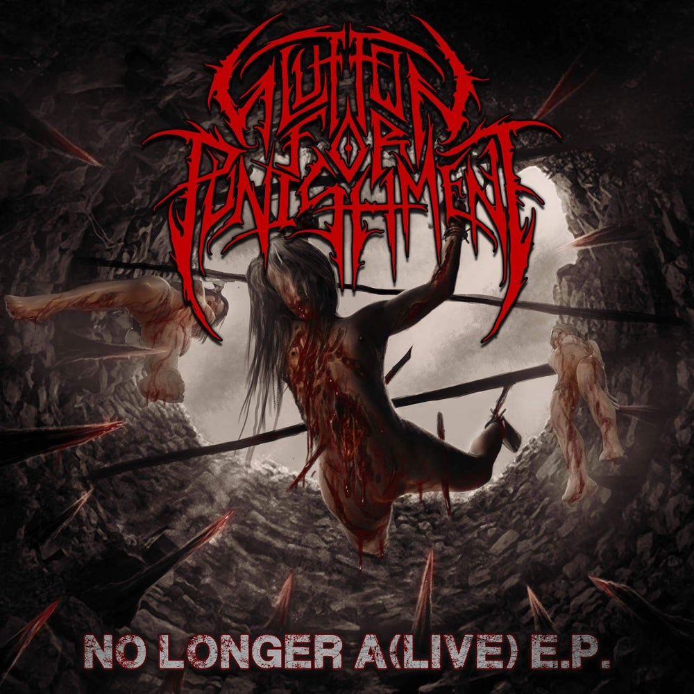 """Image of Glutton for Punishment """"No Longer A(Live) EP"""""""