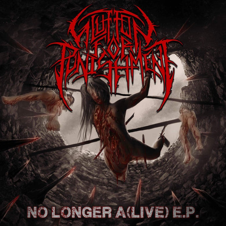 "Image of Glutton for Punishment ""No Longer A(Live) EP"""