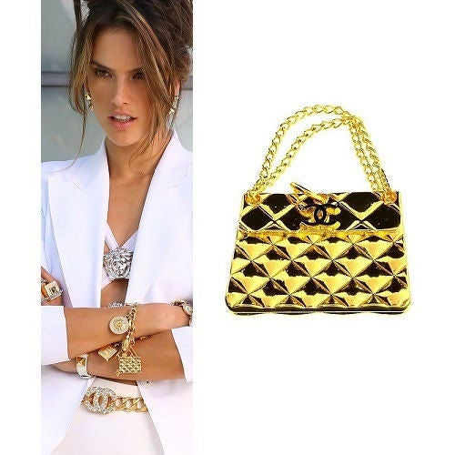 Image of Chanel Authentic VIP Gift Vintage Pendant Necklace/Bracelet Handbag Charm